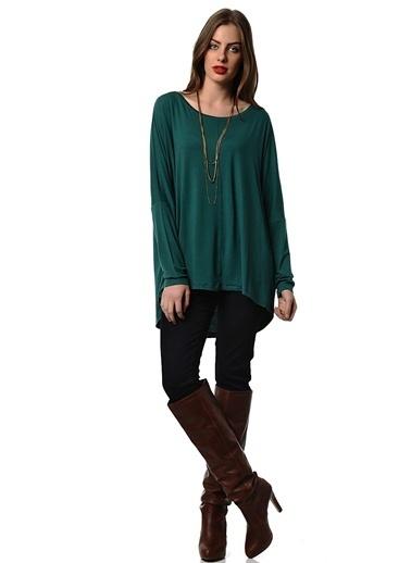 Asymmetry Bluz Yeşil